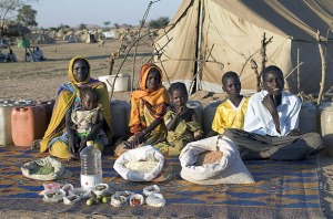 Family in Chad