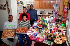 Family in USA