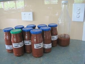 Tomato sauce - finished