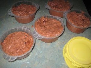 Refried beans - ready to freeze