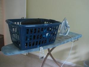Ironing basket
