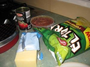 Nachos ingredients