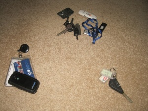 Contents of inner pockets