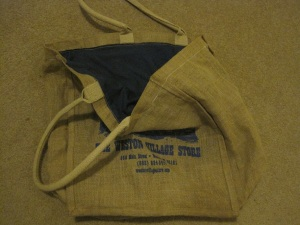 Bag with new lining