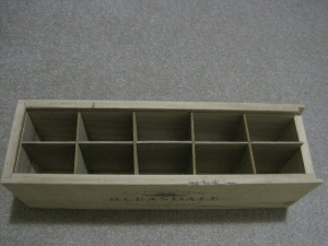 Box with inserts