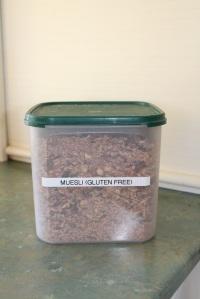 Muesli container