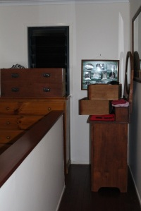 Furniture in hallway
